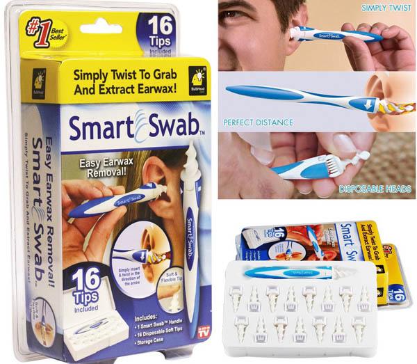 Dụng cụ lấy ráy tai Smart Swab thông minh