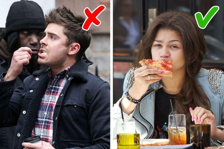 Đừng để bị phân tâm khi đang ngồi ăn