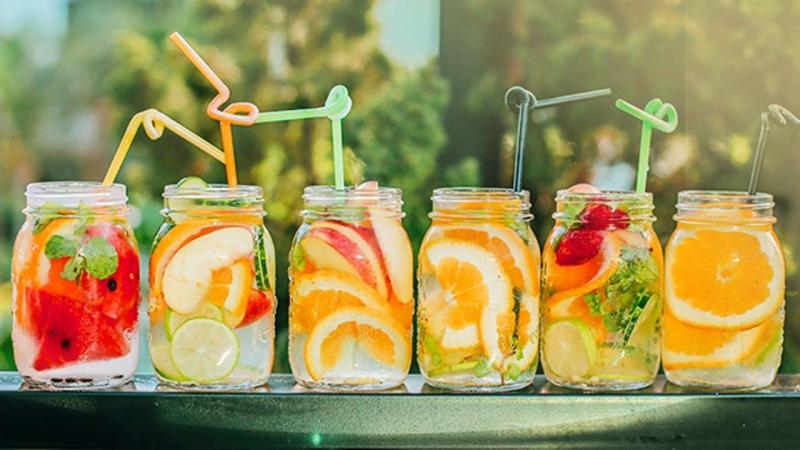 Dùng vỏ cam để làm thức uống giảm cân