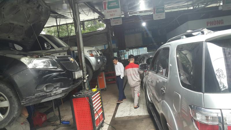 Gara ô tô Sudico