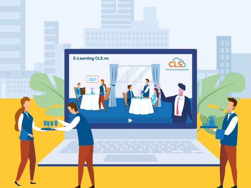 Giải pháp đào tạo trực tuyến cho ngành F&B