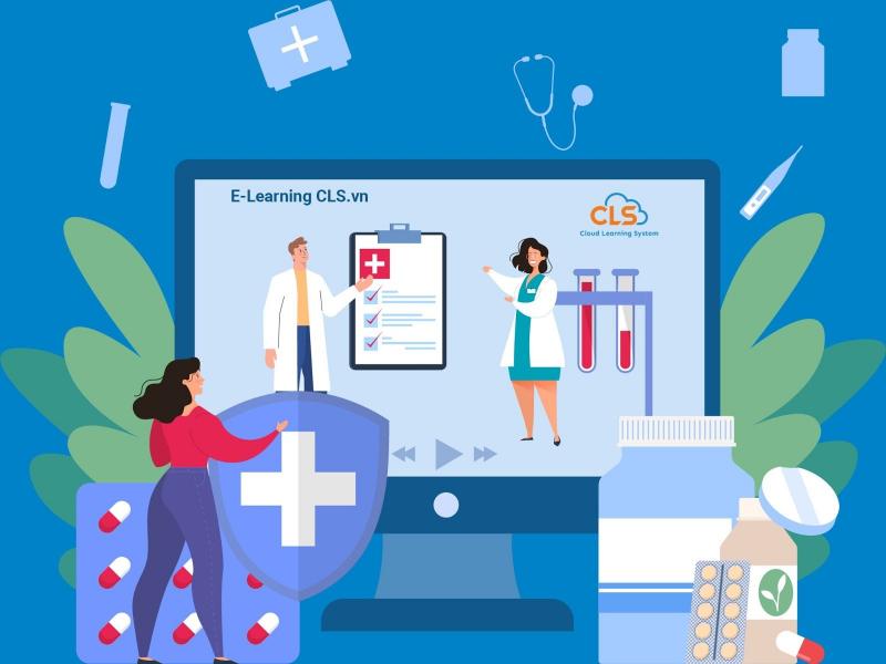 Giảng dạy trực tuyến E-Learning CLS cho ngành dược
