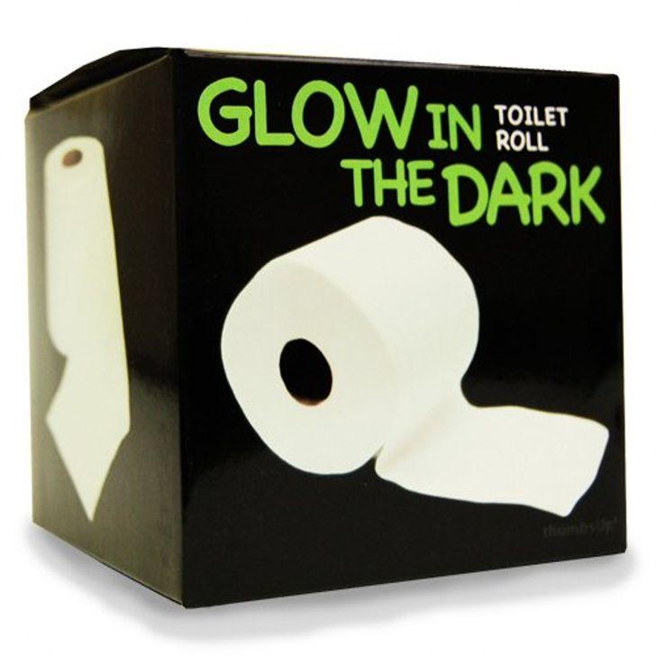 Giấy vệ sinh phát sáng
