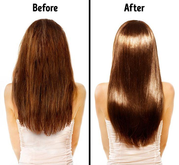 Giúp tóc bóng mượt và khỏe mạnh hơn