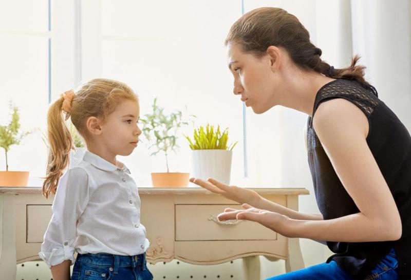 Hãy kiên nhẫn và không chỉ trích nỗ lực của trẻ dù là trẻ mắc lỗi