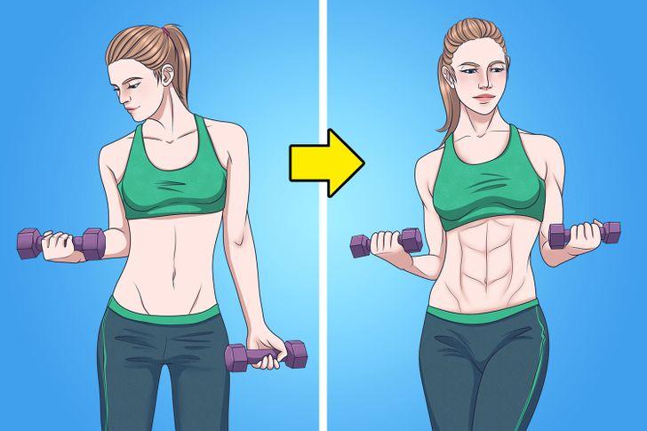 Hình thành cơ bắp nhanh hơn