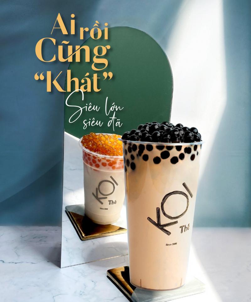 Hồng Trà Sữa Milo - KOI Thé