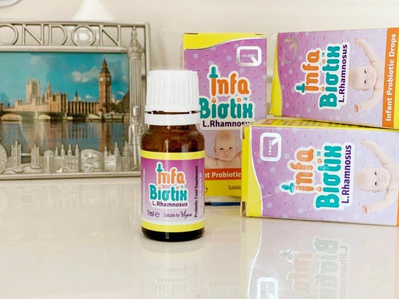 InfaBiotix – Men vi sinh hàng đầu dùng cho trẻ sơ sinh và trẻ nhỏ từ Anh Quốc