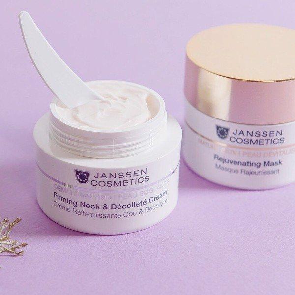 Kem chống nhăn, Giúp Săn Chắc Da Vùng Cổ Janssen Firming Neck - Decollete Cream