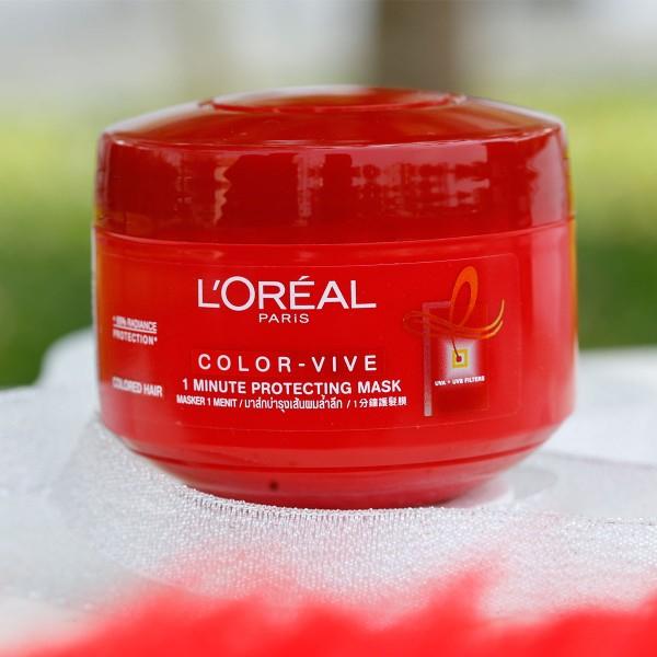 Kem ủ giữ màu dành cho tóc nhuộm L'Oreal Color Vive