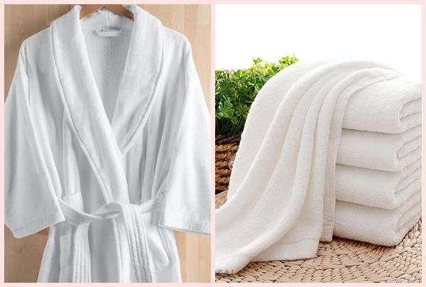 Khăn tắm và áo choàng