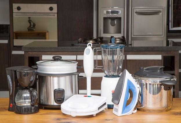 Không sử dụng quá nhiều thiết bị nhà bếp