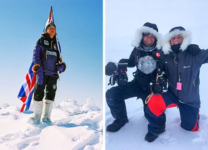 Là nhà thám hiểm địa cực phá kỷ lục và là mẹ của 4 đứa con