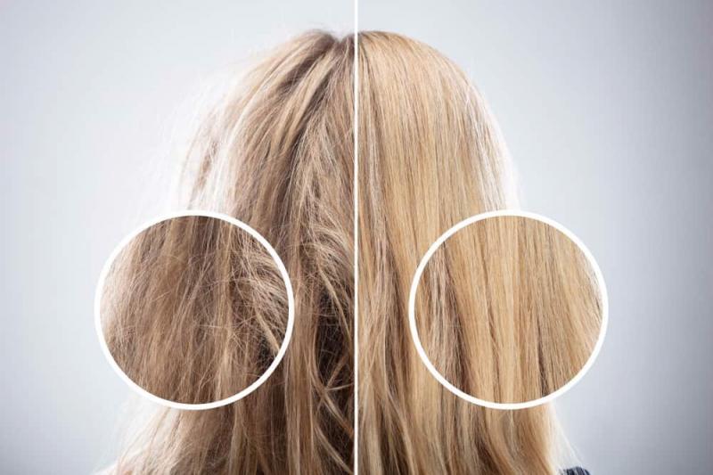 Làm cho tóc xơ, rối