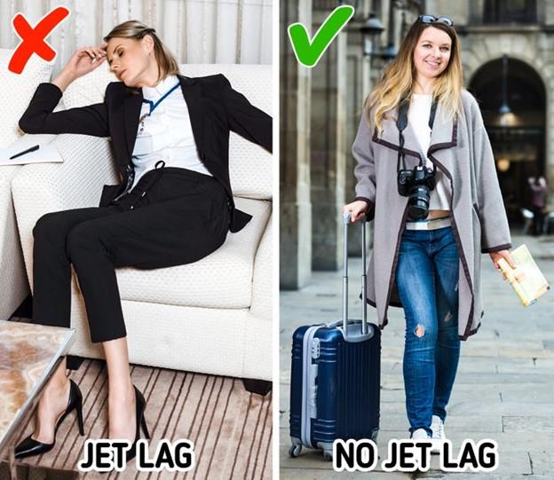 Làm thế nào để tránh bị say máy bay
