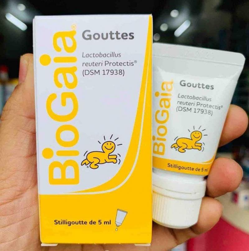 Men vi sinh BioGaia Protectis Baby Gouttes
