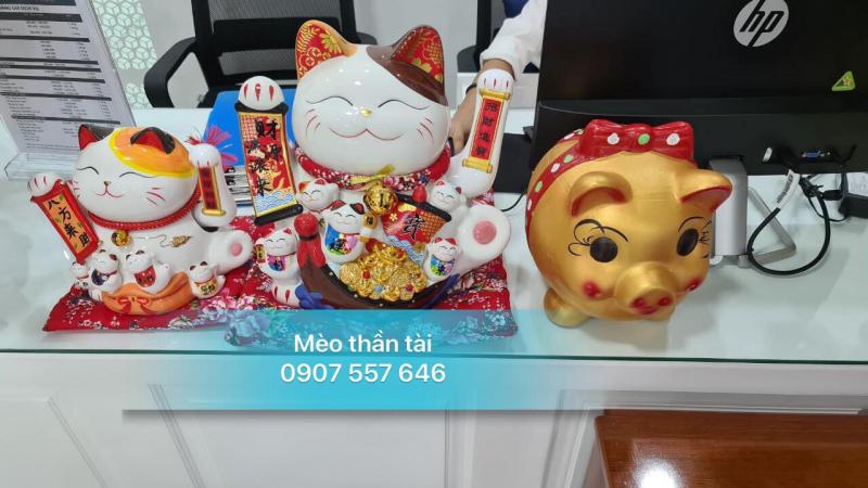 Mèo thần tài Maneki Neko - Lucky shop