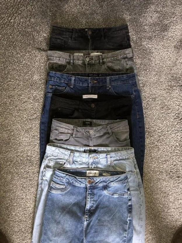 Mua nhiều quần jeans