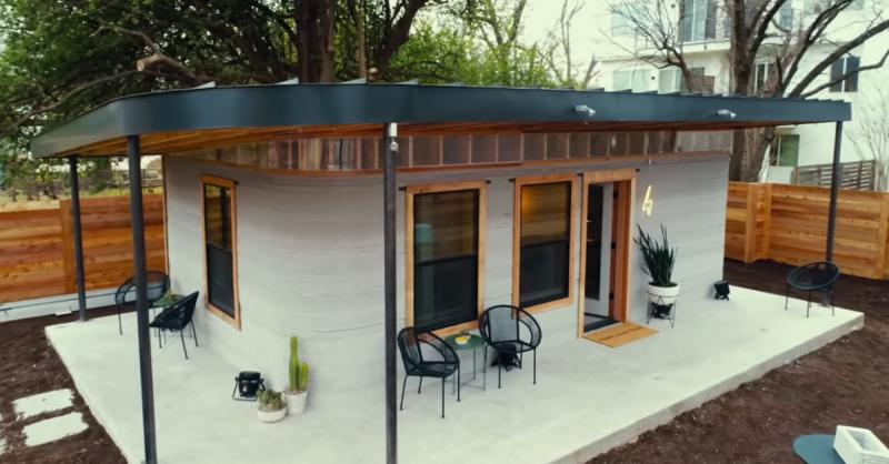 Ngôi nhà in 3 chiều cho người vô gia cư và người nghèo