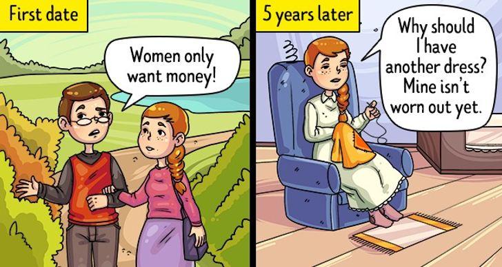 Nói về chủ đề phụ nữ ham vật chất