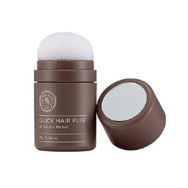 Phấn Nhuộm Tóc Tạm Thời The Face Shop Quick Hair Puff
