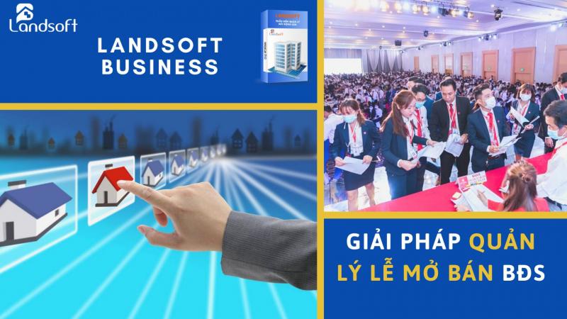 Phần mềm quản lý bất động sản Landsoft