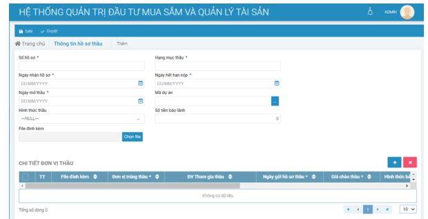 Phần mềm quản lý công trình xây dựng GSOFT