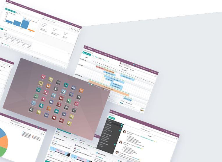 Phần mềm quản trị công ty Odoo