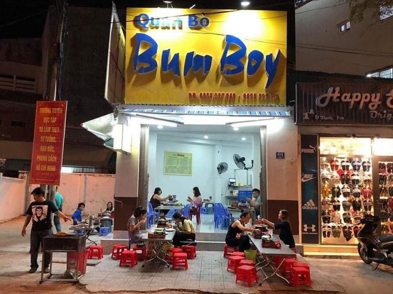 Quán Bùm Boy - Bò & Bò Lúc Lắc
