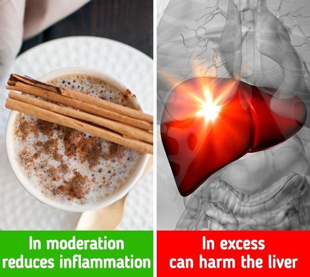 Quế có thể gây nhiễm độc cho cơ thể