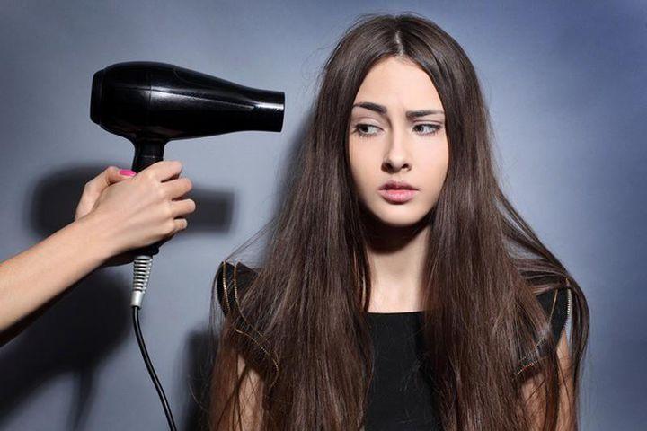 Sử dụng các loại máy tạo kiểu tóc ở nhiệt độ cao