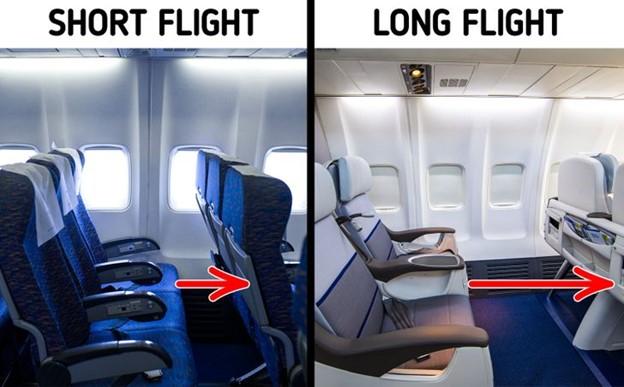 Sự khác biệt của chỗ ngồi