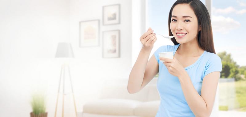 Sữa chua - nguồn năng lượng tốt cho hệ tiêu hóa
