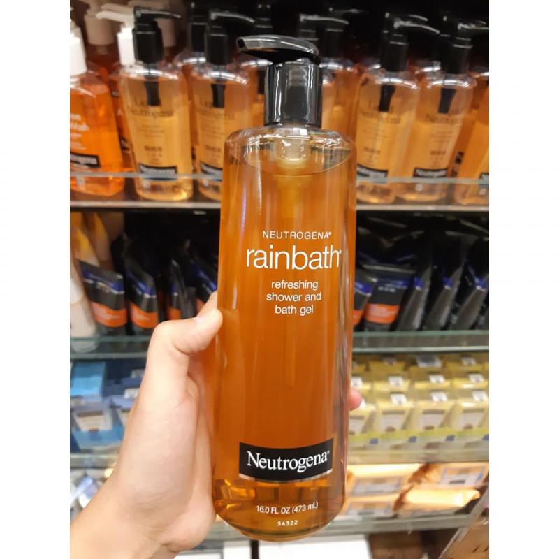 Sữa tắm đặc trị mụn lưng Neutrogena Rainbath