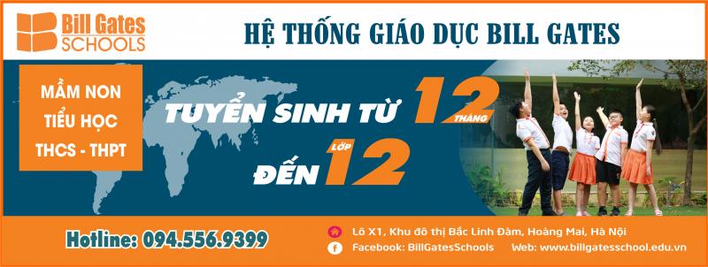THCS – THPT Quốc tế Thăng Long Hệ thống Giáo dục Bill Gates
