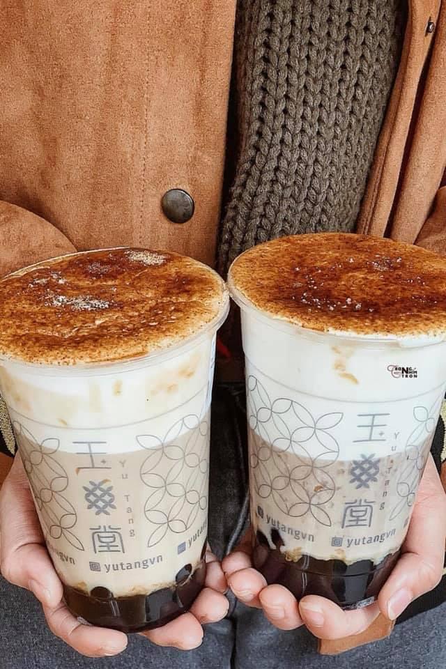 Trà sữa mùa đông trân châu nghệ nhân - Yutang