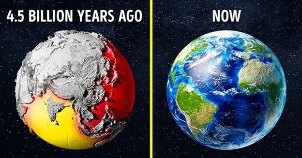 Trái Đất 4,5 tỷ năm trước trông như thế nào?