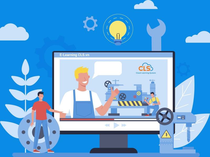 Triển khai E-Learning cho ngành sản xuất