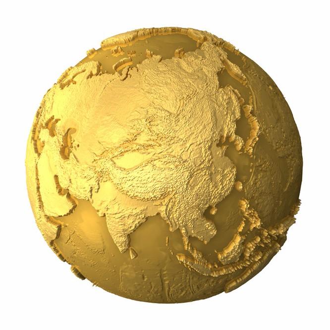 Trữ lượng vàng khổng lồ