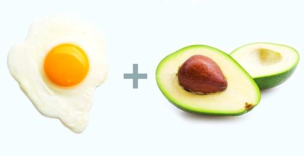 Trứng + Bơ