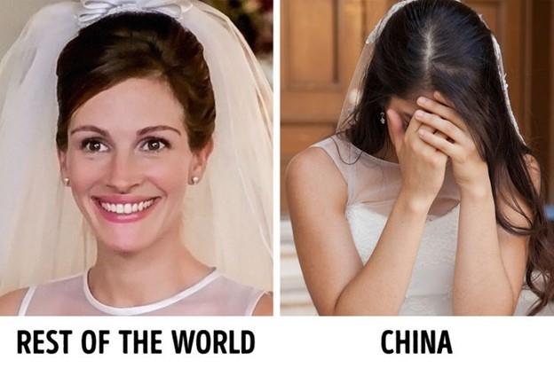 Trung Quốc: khóc trước đám hỏi của mình