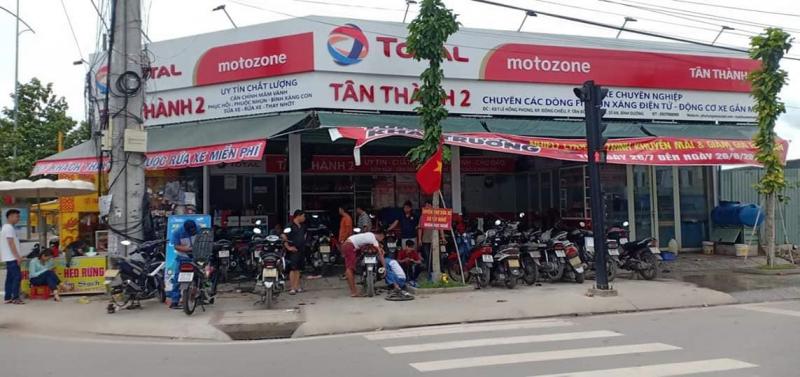 Trung tâm bảo dưỡng sửa chữa xe máy Tân Thành