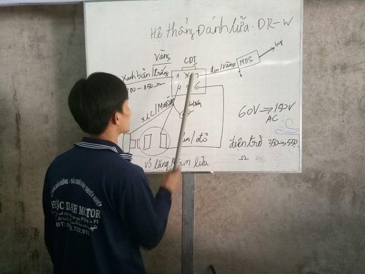 Trung tâm đào tạo dạy nghề sửa chữa xe máy KASHIMA MOTOR