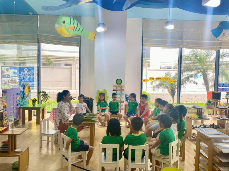 Trường Mầm non song ngữ Montessori Sunrise Kidz