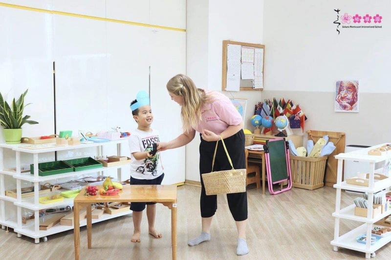Trường mầm non quốc tế Sakura Montessori - Thụy Khuê, Tây Hồ