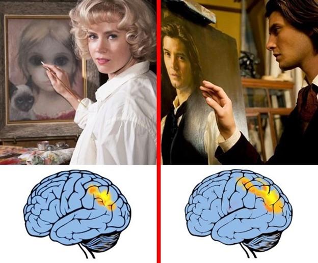Vẽ tranh giúp cải thiện các hoạt động của não
