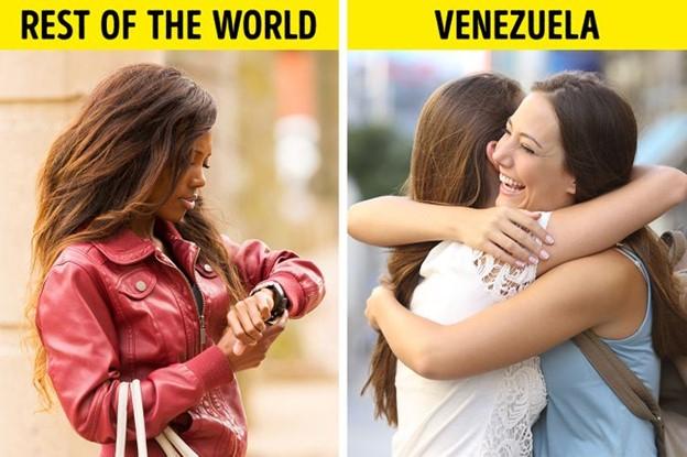 Venezuela: luôn trễ giờ