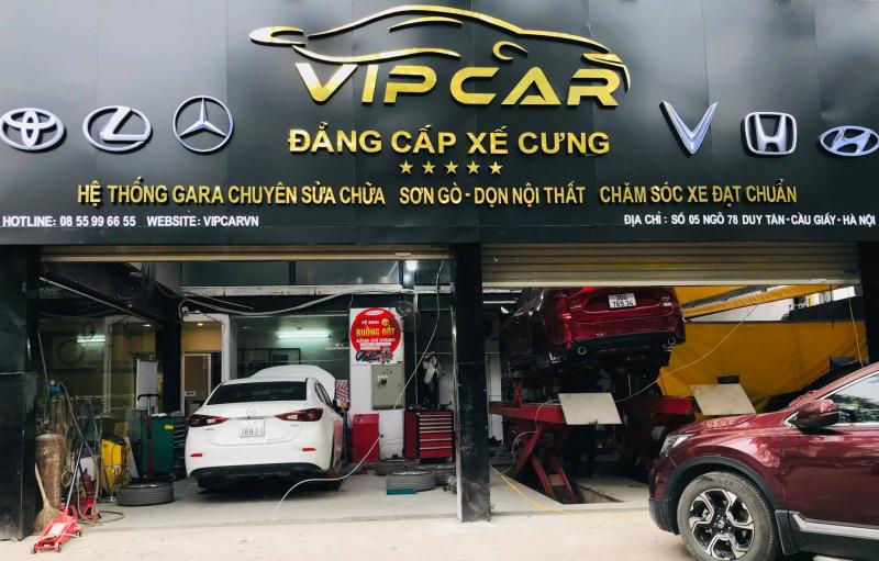 Vipcar Garage