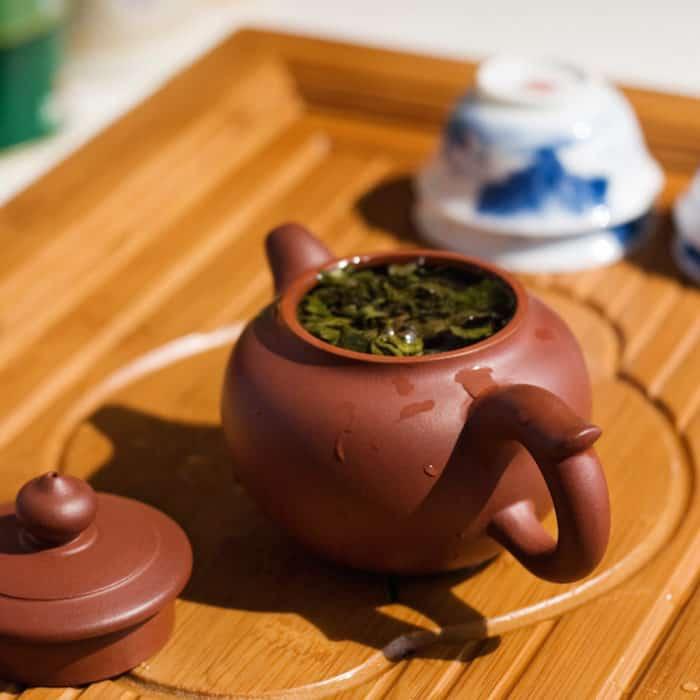 Ấm trà sạch là nóng trà không có hồn ở Trung Quốc