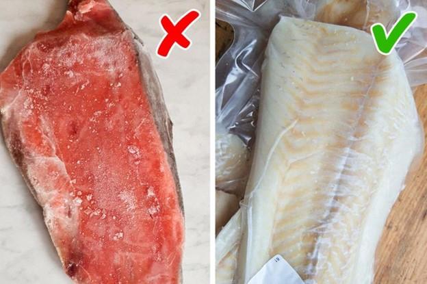 Cá chưa đông lạnh được làm giả thành cá ướp lạnh